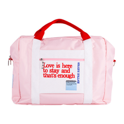 LOVE IS ENOUGH TRAVEL BAG