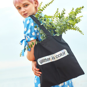 GLITTER IS A COLOR ECO BAG