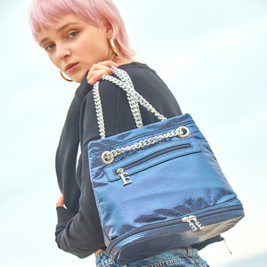 [스페셜 30%] THE DREAM CHAIN BAG - NAVY