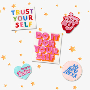 GOOD VIBES ONLY PATCH SET