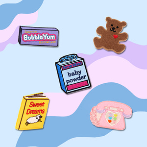CALL ME BABY PATCH SET